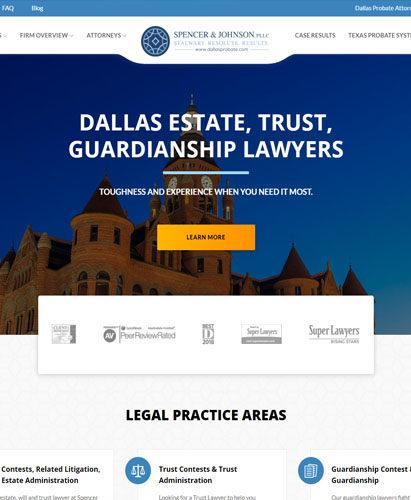 Dallas Web Design, DFW Website Designers, WordPress Websites