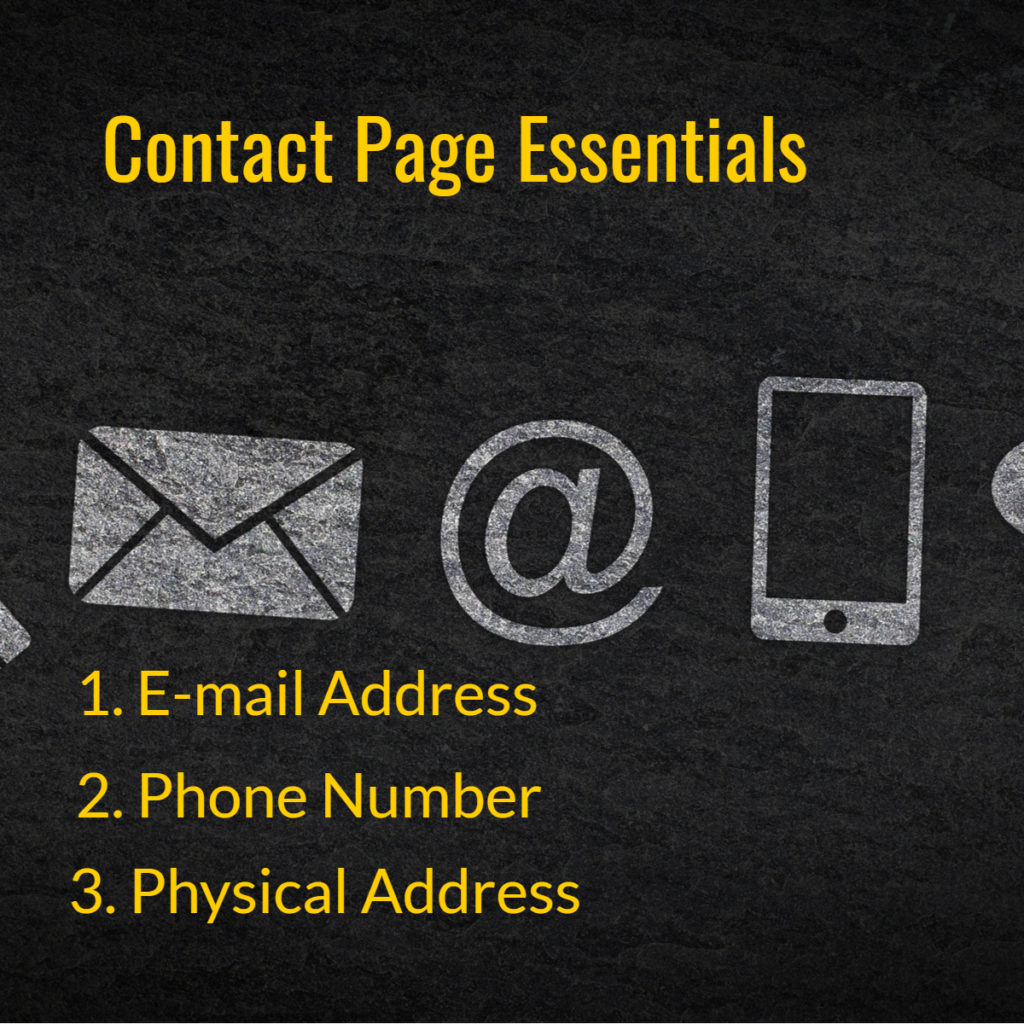 Contact Page Essentials
