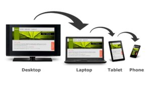 Responsive and mobile-friendly web design