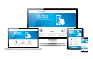 Scalable and flexible responsive web design concept
