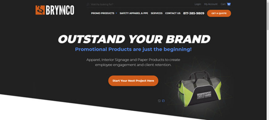 Brynnco Promotional Products New Website