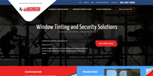 MetroTint New Website