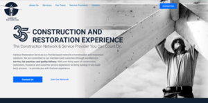 Harbour Restoration New Website