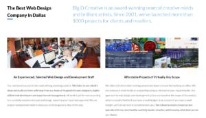websites Designed by Big D Creative