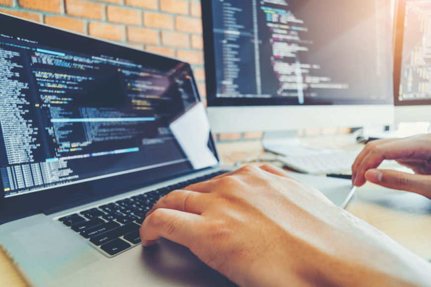 Web Developer Coding