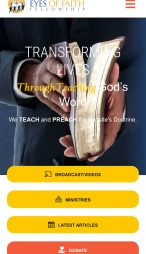 Eyes of Faith Fellowship - Mobile View