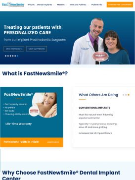 FasnNewSmile® - Tablet View