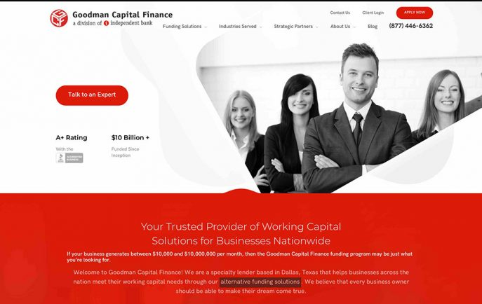 Goodman Capital Finance - Home