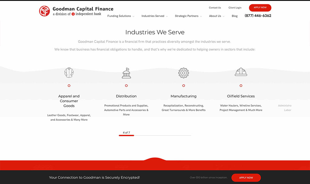 Goodman Capital Finance - Home 3